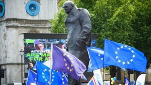 The march was held on the second anniversary of the Brexit vote.