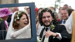 Game Of Thrones stars Rose Leslie and Kit Harington marry in Scotland
