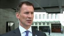 Hunt pledges to 'look at the evidence' after syringe scandal reports