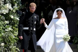Harry and Meghan became the Duke and Duchess of Sussex