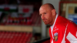 Former Wales rugby union captain Gareth Thomas wants indecent and homophobic chanting made illegal
