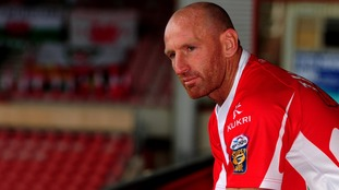 Gareth Thomas retired from all forms of rugby in 2011