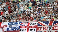 England fans given plenty to cheer about in Russia