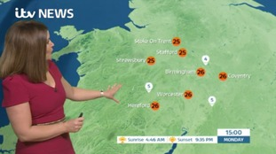West Midlands Weather: Sunny and dry
