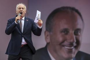 Muharrem Ince, presidential candidate of Turkey's main opposition Republican People's Party