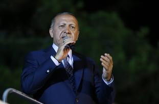 Mr Erdogan's win consolidates his grip on power
