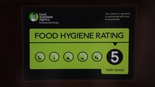 UK's best and worst food hygiene areas revealed