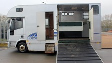 Horse box to offer safe space for vulnerable