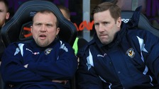 Andy Todd (right) will assist Dean Austin at Northampton.
