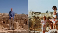 William recreates Kate's childhood family photo in Jordan