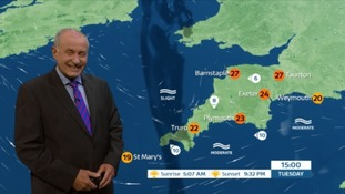 The heat keeps coming - Bob has the South West forecast