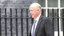 The Transport Secretary Chris Grayling has pulled out of talking at the transport summit conference