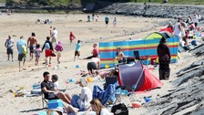 NI basks in sunshine as 'heatwave' hits UK and Ireland