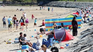 NI basks in sunshine as 'heatwave' hits