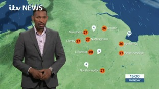 East Midlands Weather and Pollen: Dry, sunny and warm with light winds