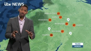 West Midlands Weather and Pollen: Dry, sunny and hotter than yesterday