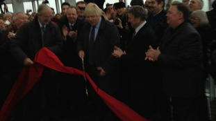 Boris declares Shard open