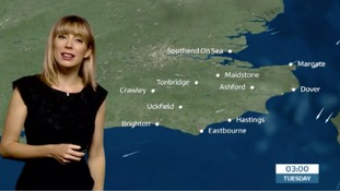 Holly's forecast for tonight and tomorrow