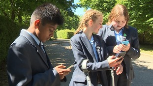 The Samuel Ward Academy in Haverhill, Suffolk bas banned mobile phones in school for more than a decade.