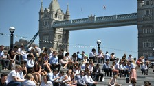 Hottest day of the year in London (and it's getting even hotter)
