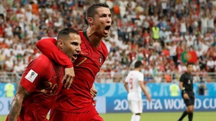 Portugal through after tense draw with IR Iran