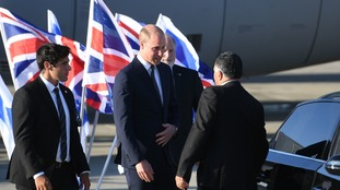 Prince William arrives in Israel