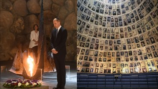The Duke of Cambridge visits the Yad Vashem Holocaust Memorial and Museum in Jerusalem
