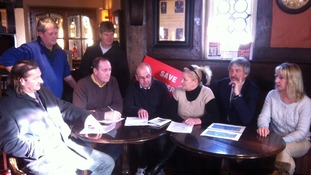North Ferriby campaigners