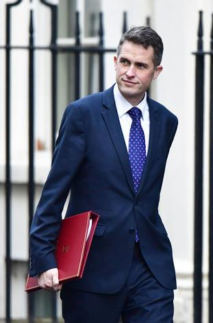 Defence Secretary Gavin Williamson is reportedly in dispute with the Prime Minister and Chancellor