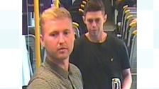 Police believe the two men pictured could help with the investigation