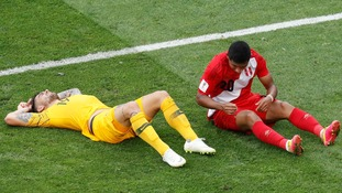 Peru beat Australia 2-0 as both sides are eliminated from Group C