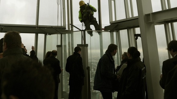 Shard officially opened by Boris Johnson