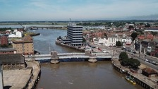 The Haven Bridge in Great Yarmouth has been unable to lift for river traffic for several weeks.