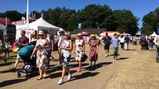 Fine weather is expected to draw the crowds to the Royal Norfolk Show near Norwich.
