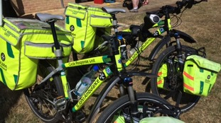The St John Ambulance will have cycle response units of hand to deal with any health problems.