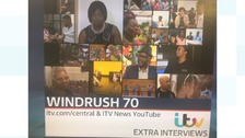 Des has been to meet people across the Midlands for our Windrush 70th anniversary series