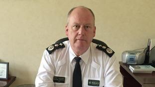 PSNI Chief Constable George Hamilton