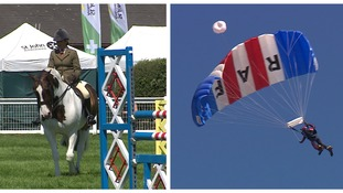 80,000 expected in the sunshine at the Royal Norfolk Show