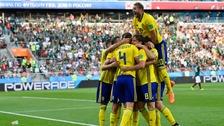 Sweden head through