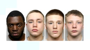 Aaron Joseph (21), Lee Warren (18), Derice Wright (18) and William Ransford (18) were jailed for manslaughter.