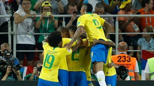 Brazil beat wasteful Serbia 2-0 to book place in last-16