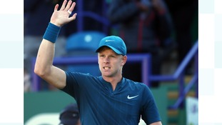 Yorkshire's Kyle Edmund beats British rival Andy Murray in straight sets