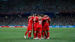 Late drama secures Costa Rica's first 2018 World Cup point and Switzerland progress into the last-16
