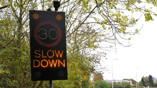 Batteries from speed signs in four Suffolk towns have been stolen