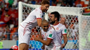 Tunisia come from behind to deny Panama their first ever World Cup win