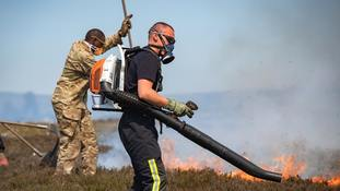 Moors fires could take weeks to extinguish as second blaze breaks out