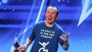 Lee Ridley won a spot at The Royal Variety Performance