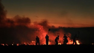 Why the Saddleworth fire is likely to burn for weeks