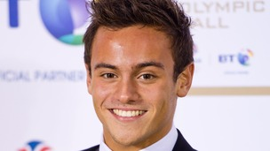 Tom Daley won a bronze medal at the London 2012 Olympic Games.