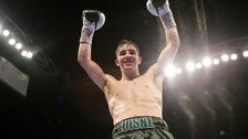 Belfast's Mick Conlan celebrates his homecoming win over Adeilson Dos Santos